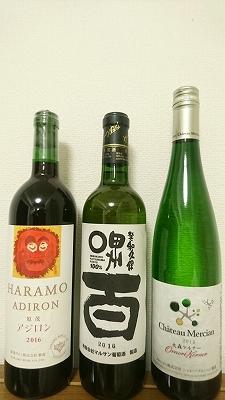 勝沼ワイナリー巡りで購入したワイン
