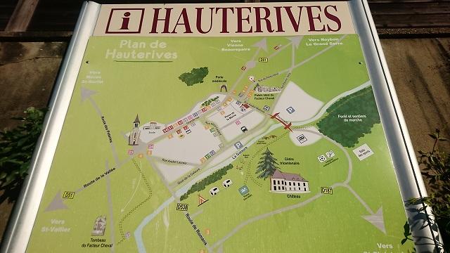 オートリーヴの村の地図