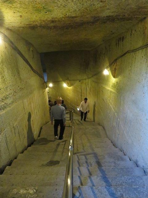 大谷資料館入り口の階段