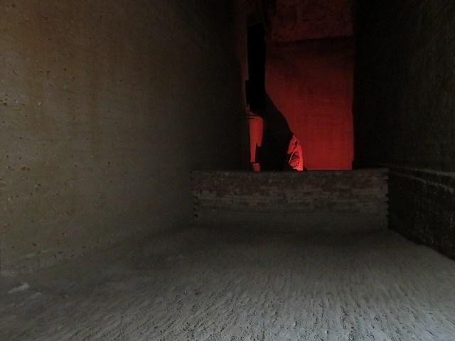 大谷資料館内部の巨石