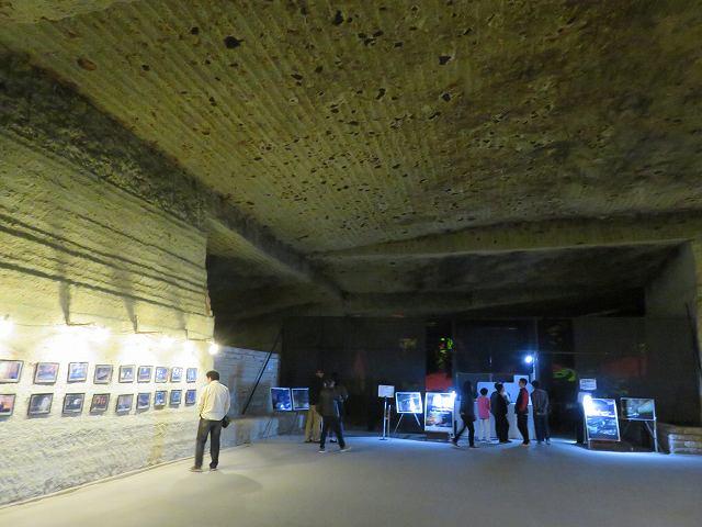 大谷資料館内部のギャラリー