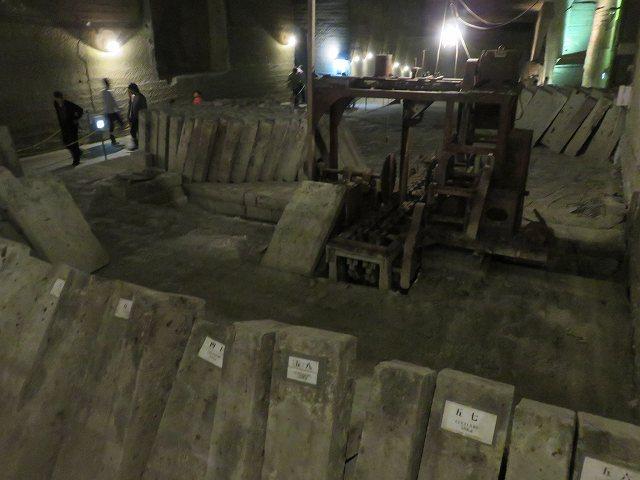大谷資料館内部、石切り場