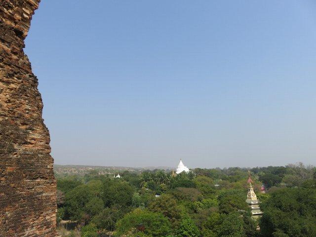 ミングォン・パヤー上からの眺め