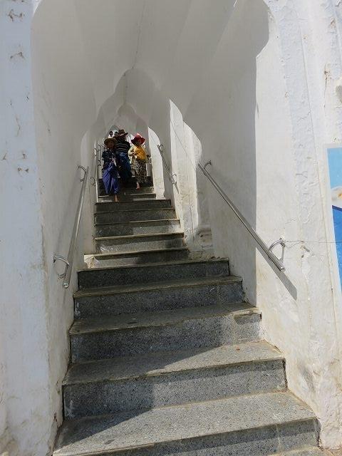 シンピューメェの階段