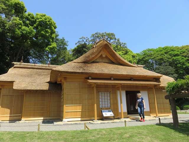 浜離宮恩賜庭園内にある「鷹の御茶屋」