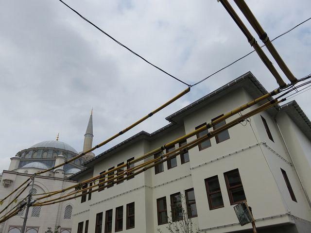 工事中のトルコ文化センター