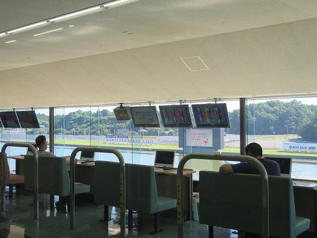三国競艇場3階の指定席