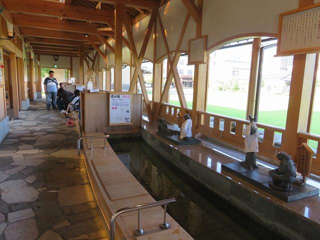福井県芦原温泉の足湯
