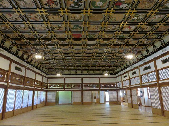 福井県永平寺の大広間