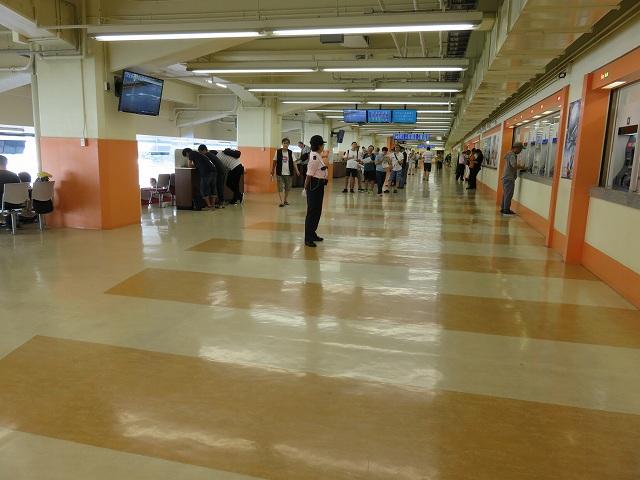 平和島競艇場3階フロア