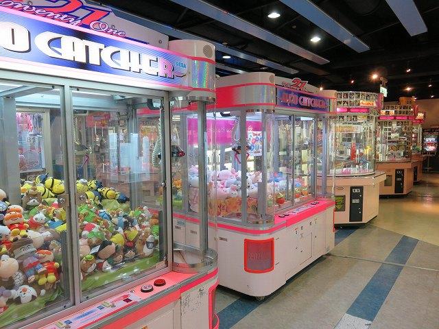戸田競艇場1階ゲームプラザ
