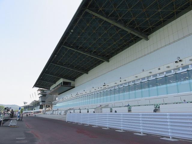 桐生競艇場スタンド