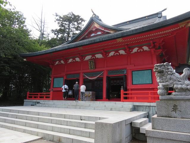 赤城山大沼近くの赤城神社