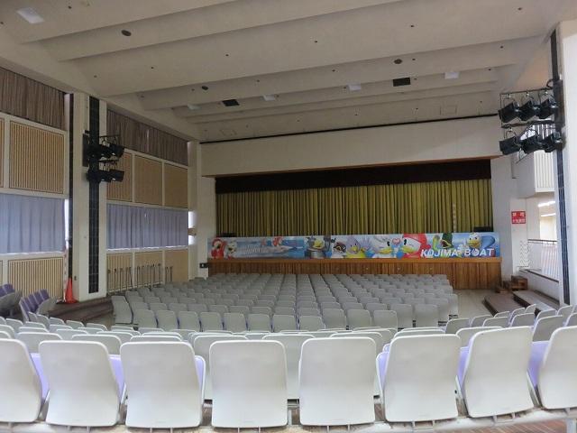 児島競艇場のイベントホール