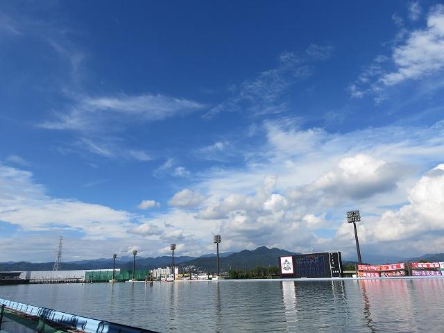 桐生競艇場の水面