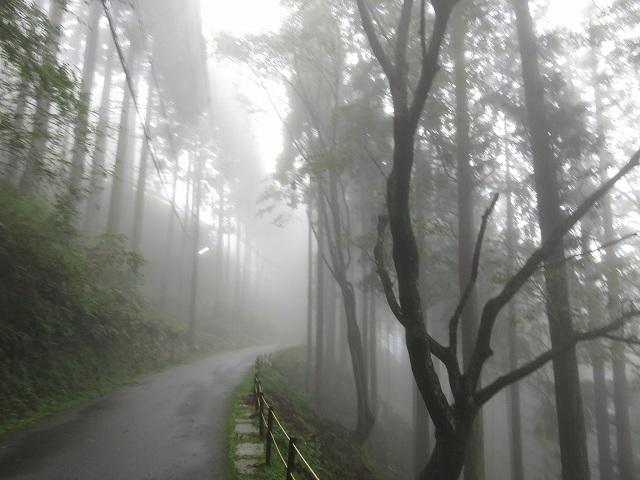 延暦寺へ向かう山道