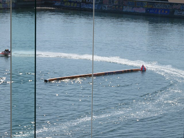 浜名湖競艇場ロイヤルルームからの眺め
