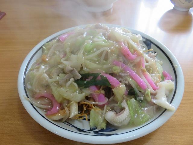 長崎県大村市の中華料理店「協和飯店」の皿うどん