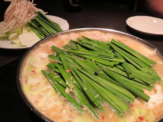 福岡博多もつ鍋「やま中」のもつ鍋