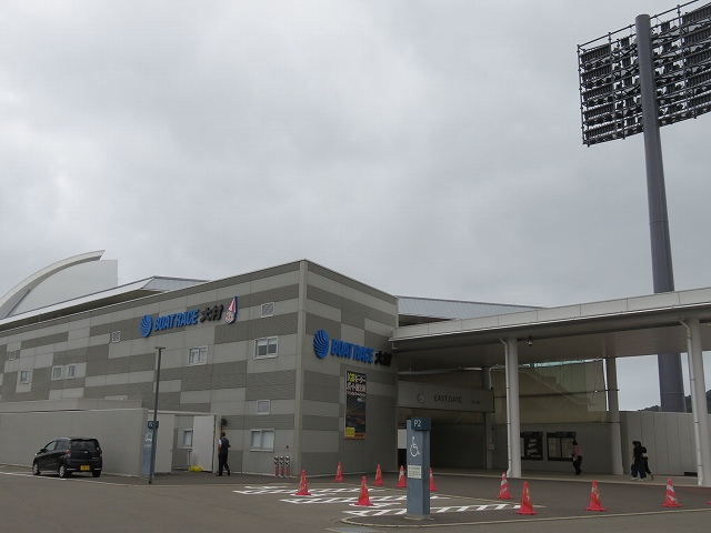大村競艇場の入り口