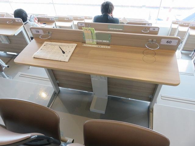大村競艇場2階のレディース・カップル席
