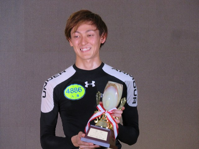2018年九州スポーツ杯で優勝した入海馨選手