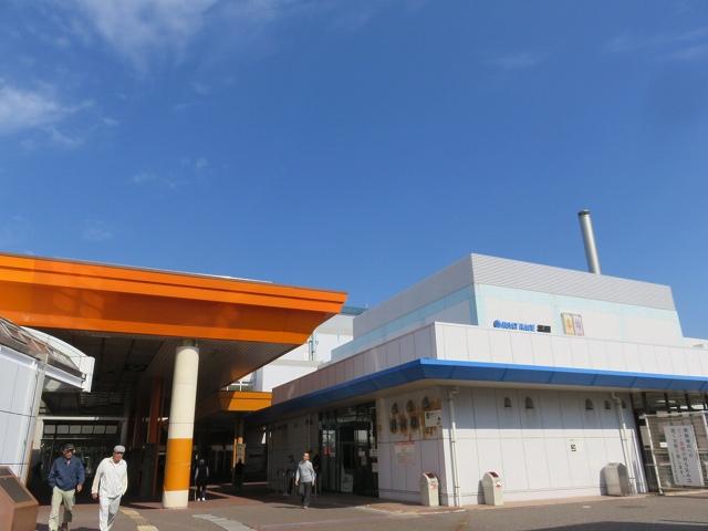 福岡競艇場の入り口