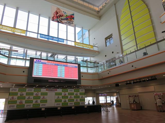 福岡競艇場のイベントホール