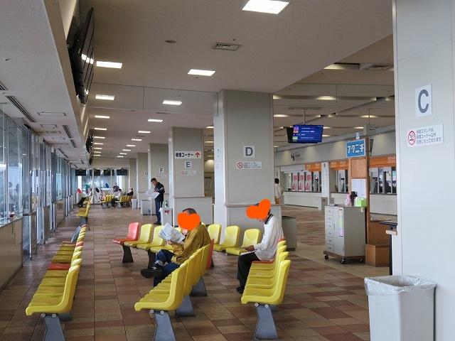 福岡競艇場の1階スタンド