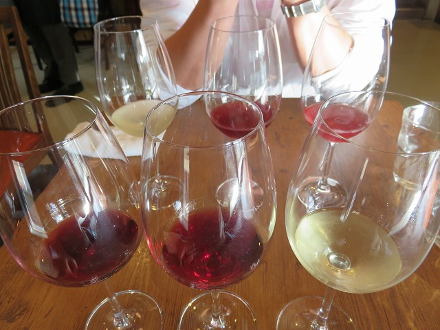 フジマル醸造所のワインテイスティングセット