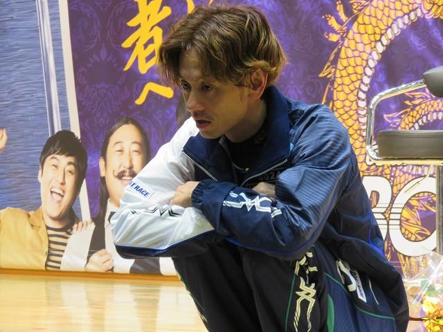 2018年蒲郡SGボートレースダービーの優勝戦出場選手インタビューでの井口佳典選手