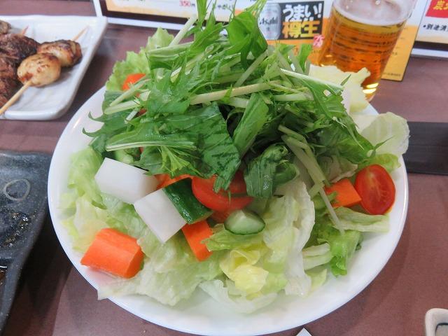 戸田公園駅近くの居酒屋「ごさろ」のごさろサラダ