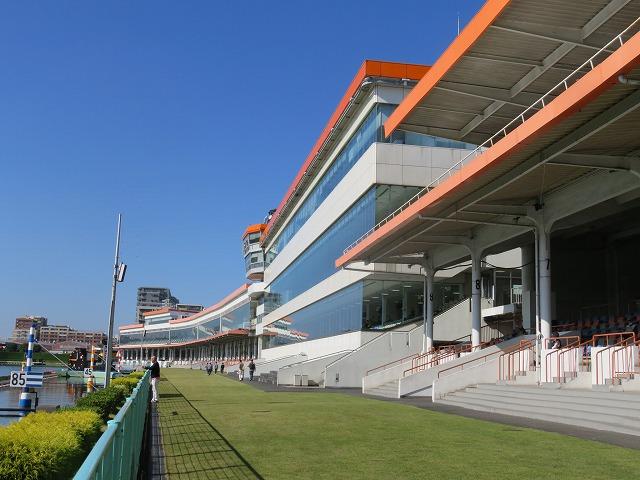 多摩川競艇場のスタンド