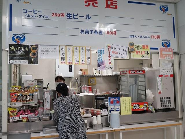 多摩川競艇場の4階売店