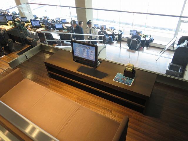 江戸川競艇場の指定席MIYABIのペア席