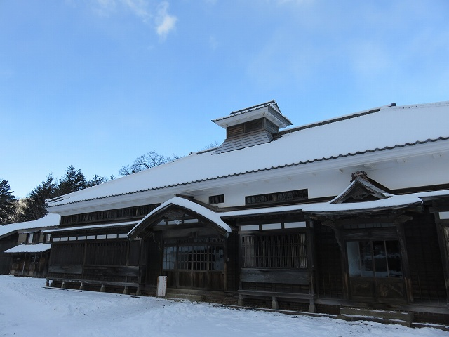 北海道開拓の村の旧青山家漁家住宅