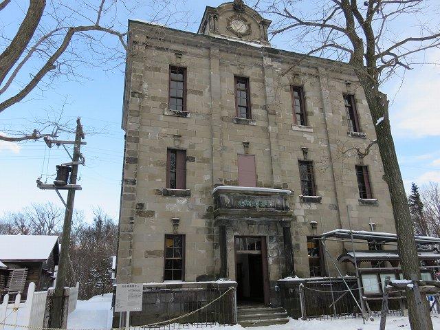 北海道開拓の村の旧小樽新聞社