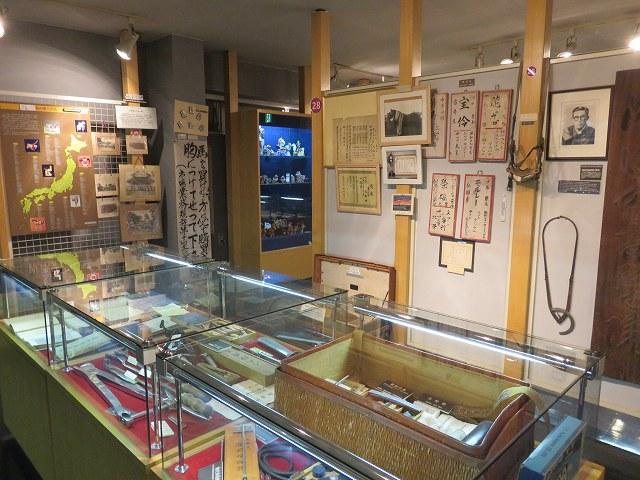 ばんえい帯広競馬場の「馬の資料館」の展示