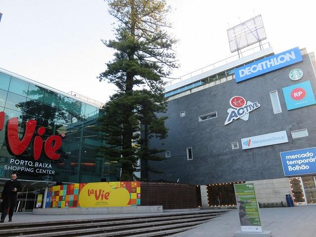 ポルトガルのポルトにあるショッピングセンター「La Vie Porto Baixa」と、併設されているボリャオン市場