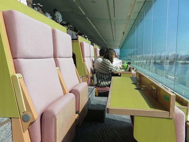 津競艇場の指定席B席