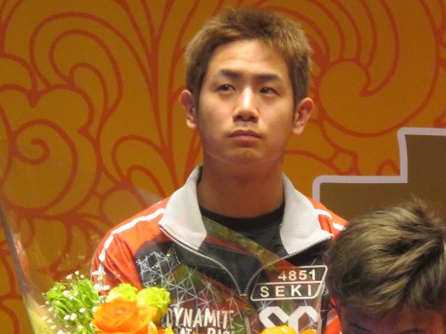 戸田競艇場で開かれたSG戸田クラシックの開会式での関浩哉選手