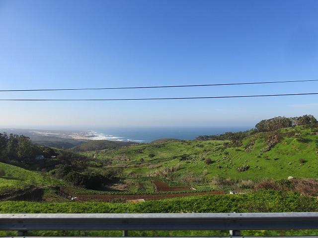 ポルトガルのロカ岬に行く途中の景色