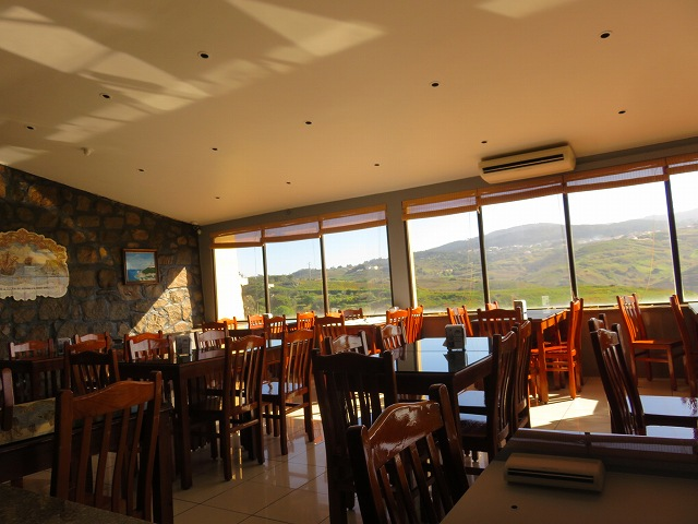 ポルトガルのロカ岬のレストラン