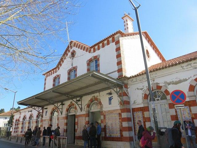 ポルトガルのシントラ駅