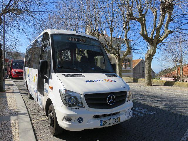 ポルトガルのシントラ周遊バス