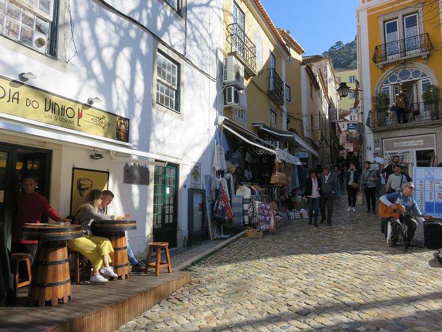 ポルトガルのシントラの街並み