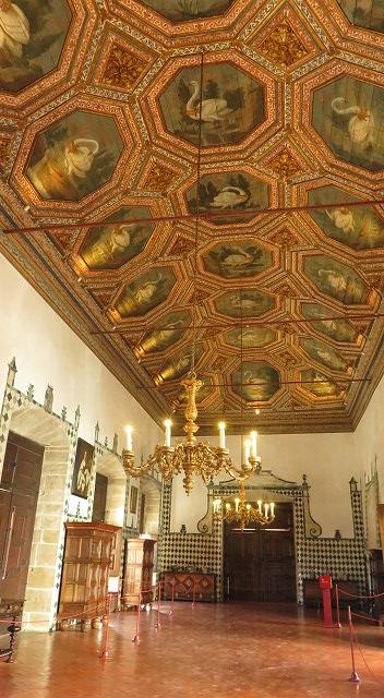 ポルトガルのシントラ宮殿内部