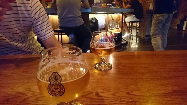 緑光計畫にあるクラフトビール屋「啜飲室 台中」のビール