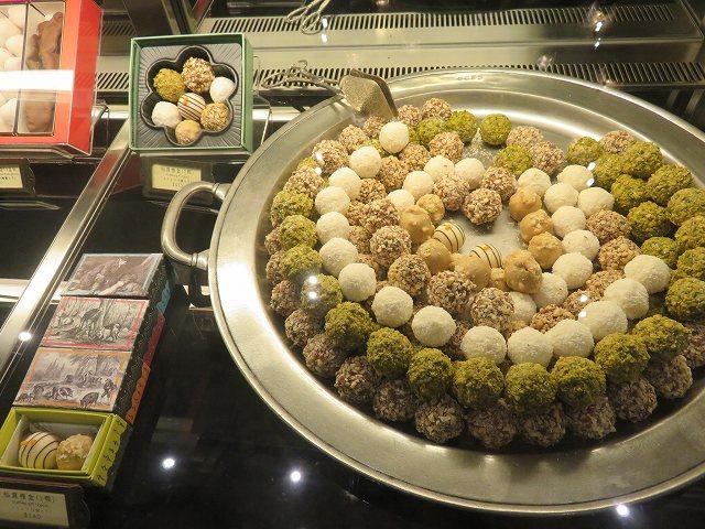 台中の宮原眼科のチョコレート