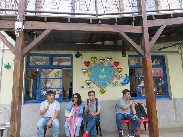 審計新村の中にあるジェラート屋